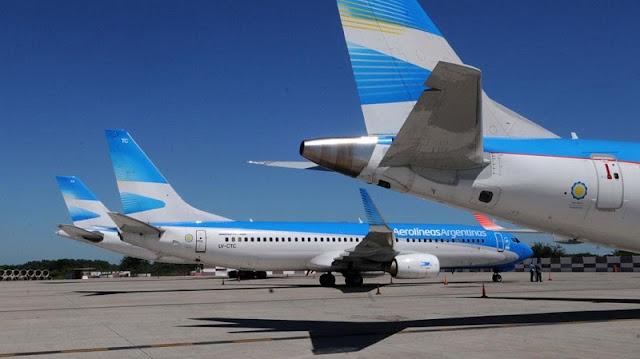Diferentes voos e tempo de avião até Córdoba