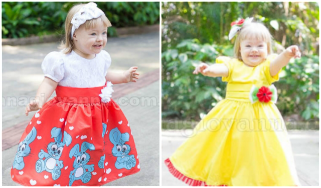 84 Vestidos de festa infantil