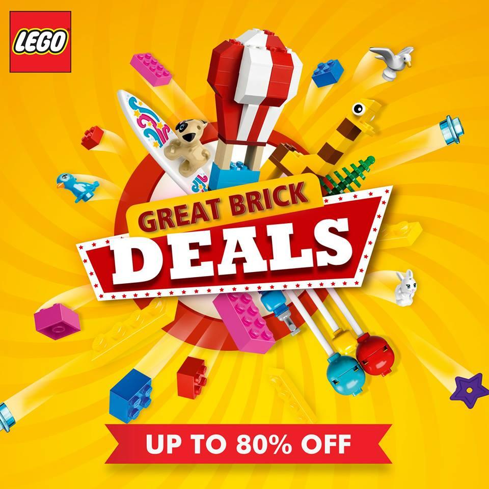 Lego deals february 2018