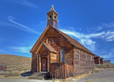 Bodie ghost town, the Church