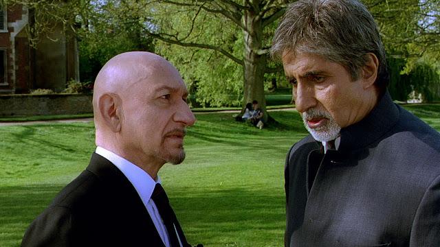 Ben Kingsley and Amitabh Bachchan in Leena Yadav's Teen Patti