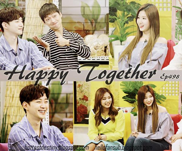 Hellofansub Happy Together حلقة Ep498 بالتعاون مع Maf Hd