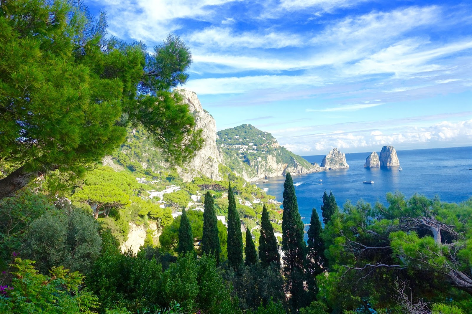 exploring the island of capri