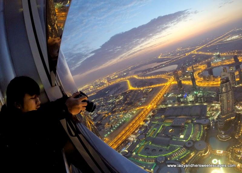 Ed at Burj Khalifa At The Top