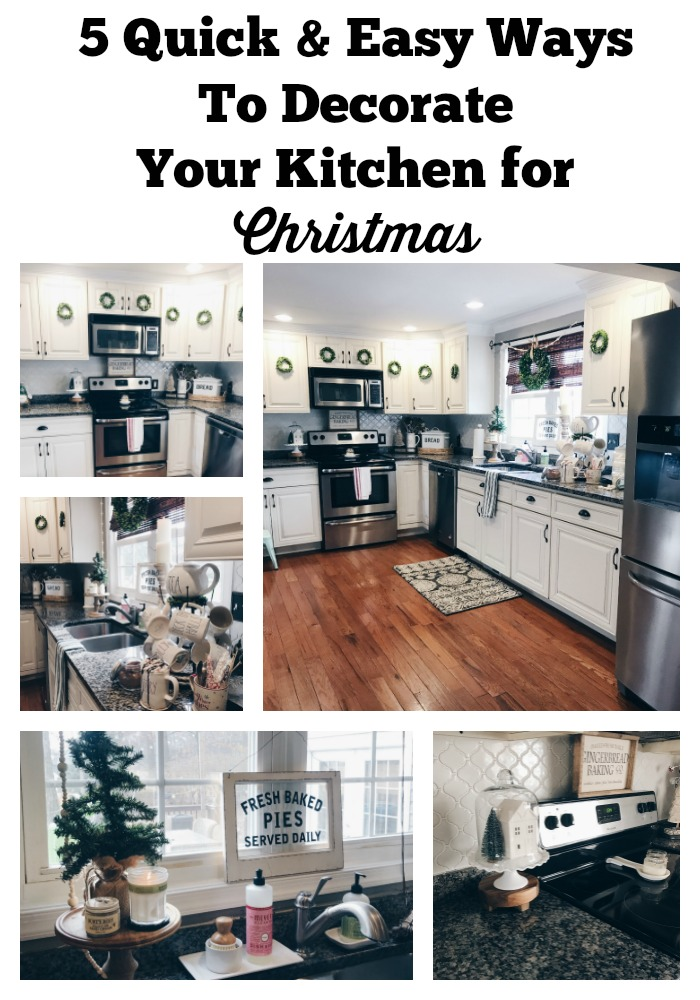 Share Some Quick Tips On How You Can Spruce Up The Most Used Room In Your Home For Holidays I Mean Its Definitely Heart Of Our Here