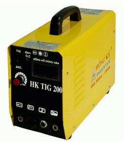 Hình ảnh máy hàn tig Hồng Ký HK TIG 200A