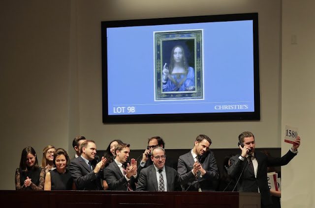 Leonardo Christ painting sells for $450M