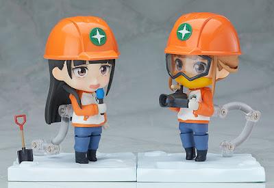 """Nendoroid Hinata Miyake de """"Uchuu Yorimo Toi Basho"""" - Good Smile Company"""