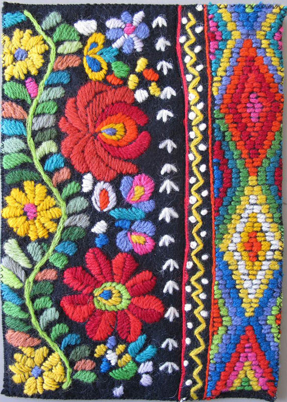 Inspired Byxican Flower Embroidery Patterns Cozystylishchic