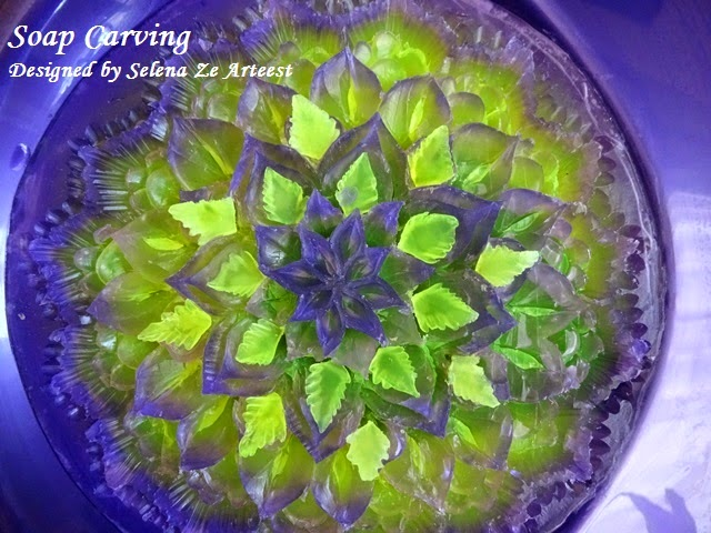 new design for soap carving art