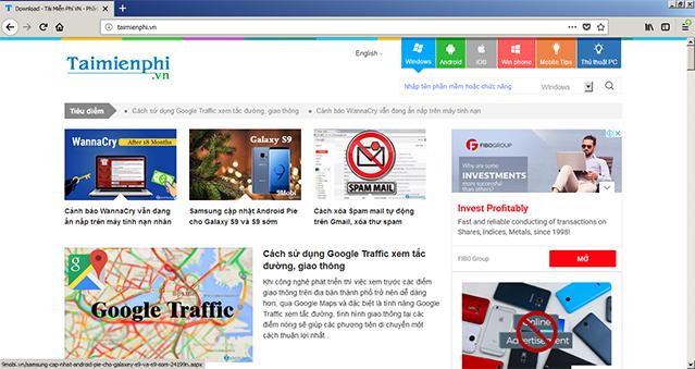 Download Firefox Tiếng Việt - Trình Duyệt Web Tốc Độ Cao Cho PC b