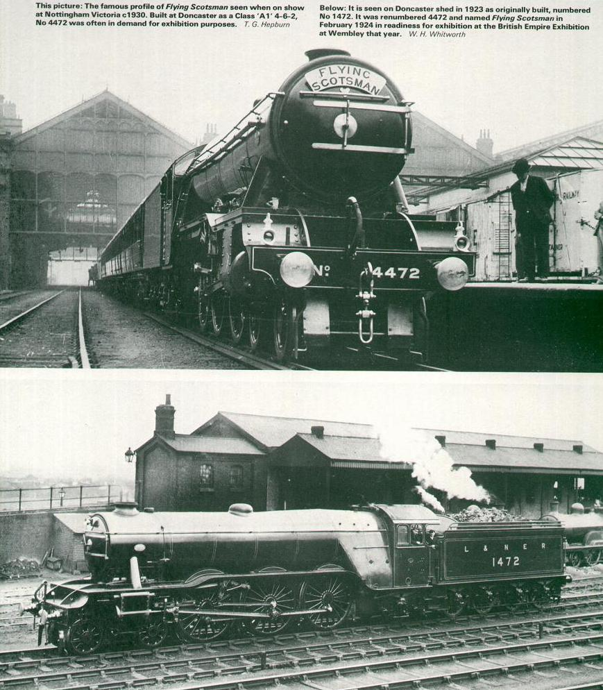 The number was originally 1472 but was changed to 4472 when the locomotive  was named prior to display at the British Empire Exhibition