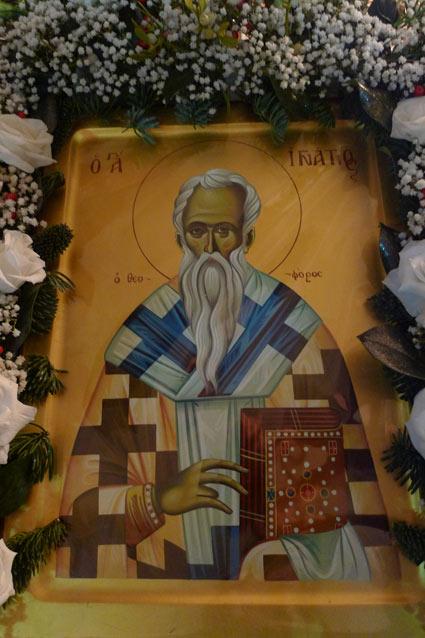 Αποτέλεσμα εικόνας για Στο Μητροπολιτικό Ναό της Βέροιας φυλάσσεται η Τίμια Κάρα του Αγίου ιγνατιου