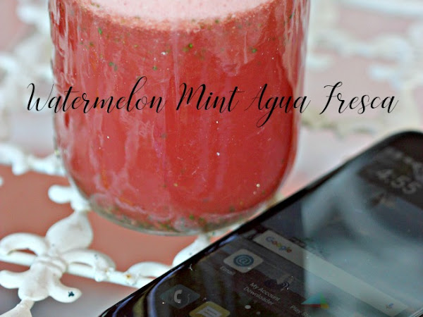 End of Summer + Easy Watermelon Mint Agua Fresca Recipe