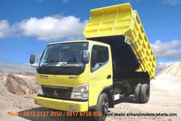 paket kredit dp kecil colt diesel dump truck 2018