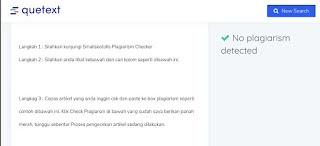 Cara Cek Artikel Website Blog Ori atau Copas (Copy Paste) Terakurat