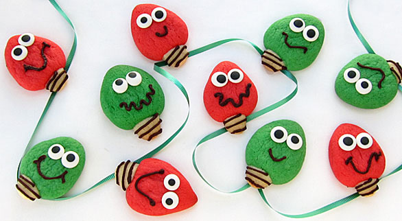 Make some tasty cookies that will satisfy anybody this season. These Christmas Light and Dreidel  sc 1 st  Hungry Happenings & Christmas Light and Dreidel Cookies - Holiday Dessert