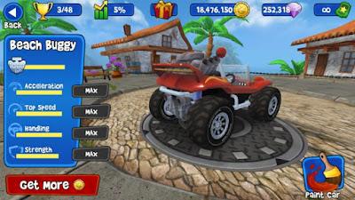 Beach Buggy Racing Mod Apk game