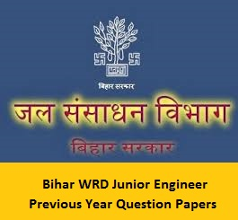 Bihar WRD Junior Engineer Previous Year Question Papers