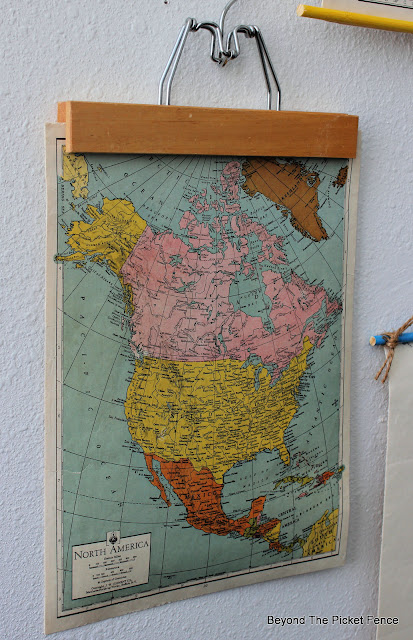 Thrifty Thursday Vintage Map Project