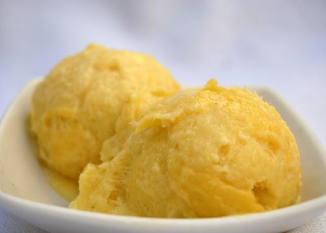 Helado de Mango (Mango Ice Cream)