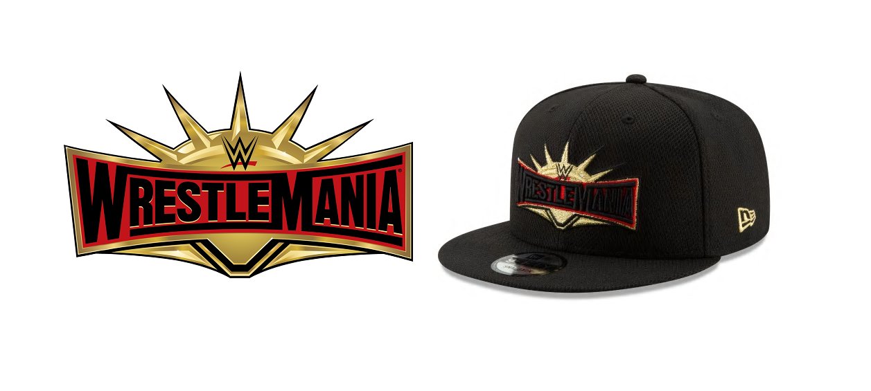 d4067fe9b The Blot Says...: WrestleMania 35 Hat Collection by New Era Cap x WWE