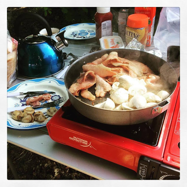 meal ideas for camping trips, family camping