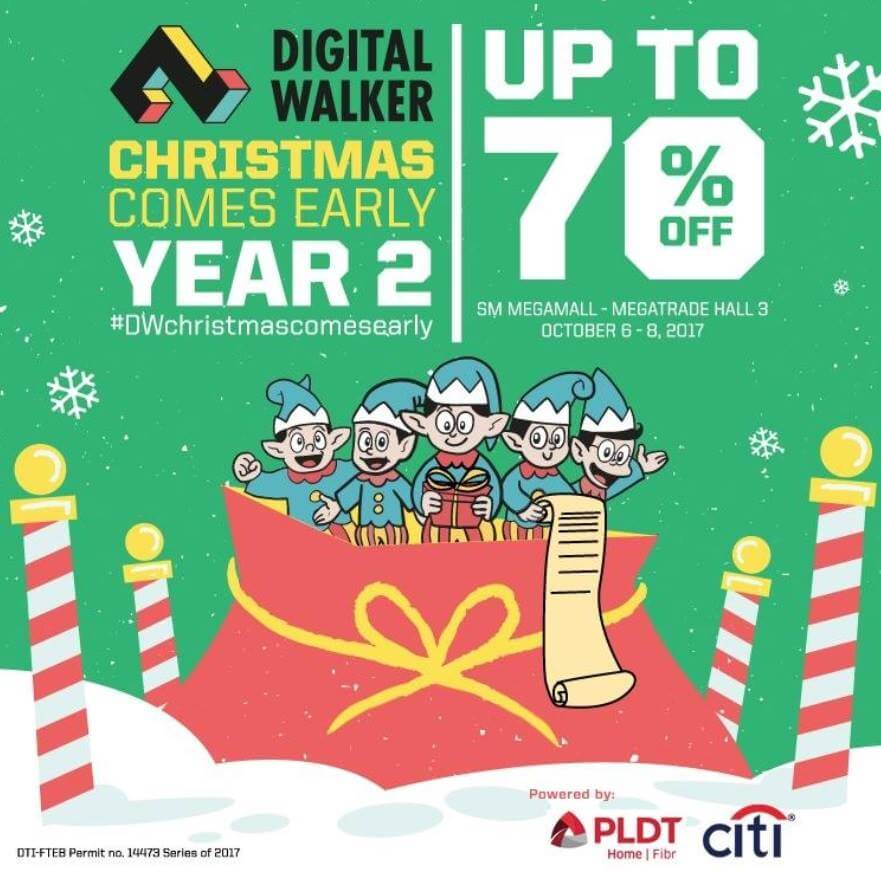Christmas Comes Early with Digital Walker's Madness Sale Happening This October 6 to 8