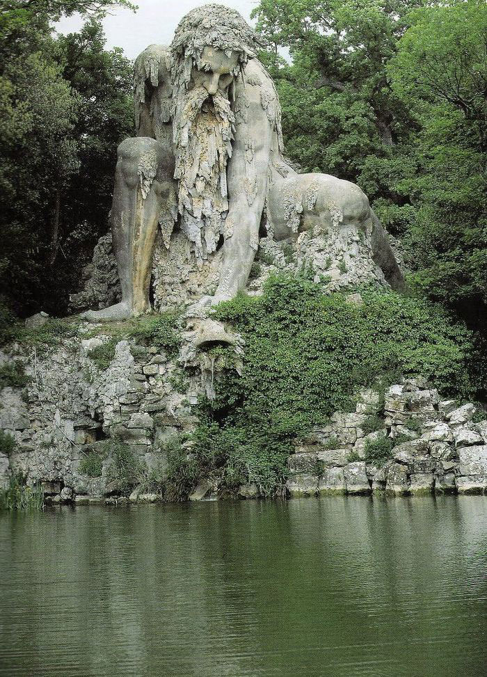 This epic colossus was erected in the late 1500s by renowned Italian sculptor Giambologna - Giant 16th-Century 'Colossus' Sculpture In Florence, Italy Has Entire Rooms Hidden Inside