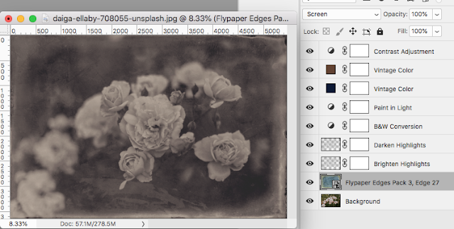 "CoffeeShop ""Vintage Photo Edit"" Photoshop/PSE Editing Tutorial!"