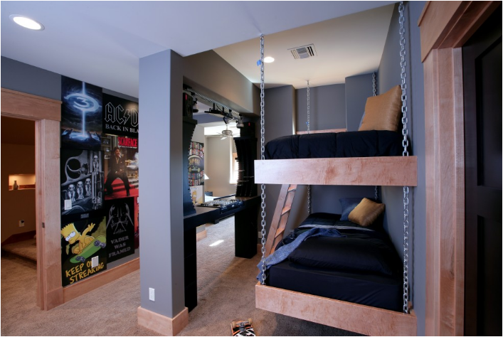 Key interiors by shinay cool dorm rooms ideas for boys - Cool stuff for boys room ...