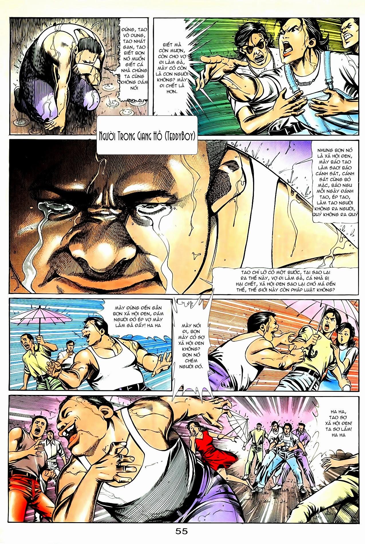 Người Trong Giang Hồ chapter 85: diệt môn trang 28