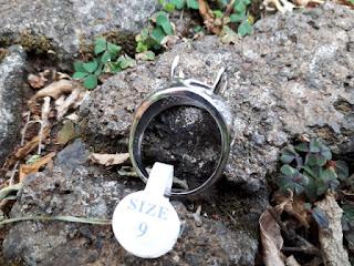 Ring Perak Hongkong 925 Mewah Kombinasi Zircon PRK042