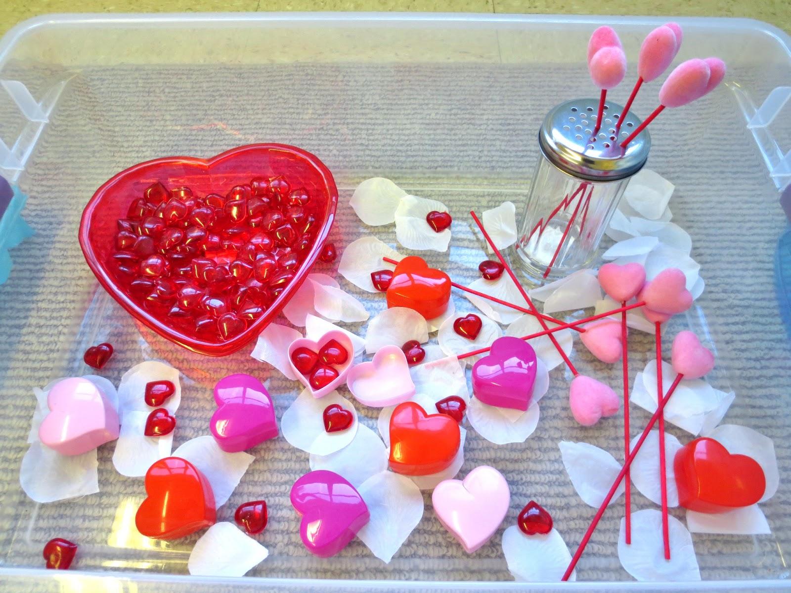 Princesses Pies Preschool Pizzazz Valentine Sensory Bin