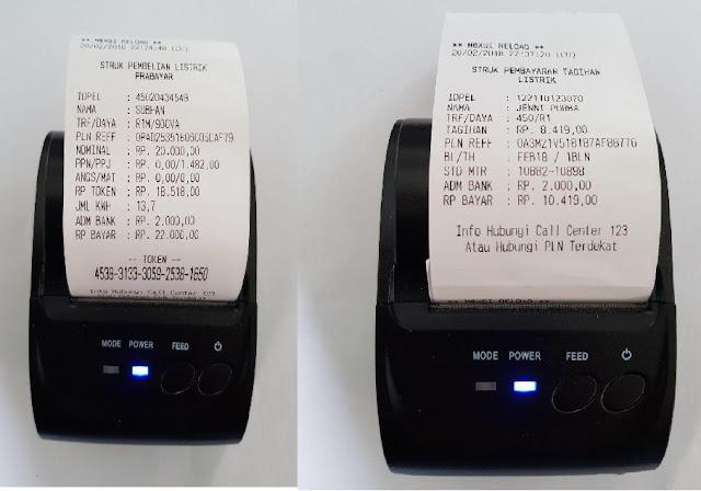 e-Bayar cetak struk
