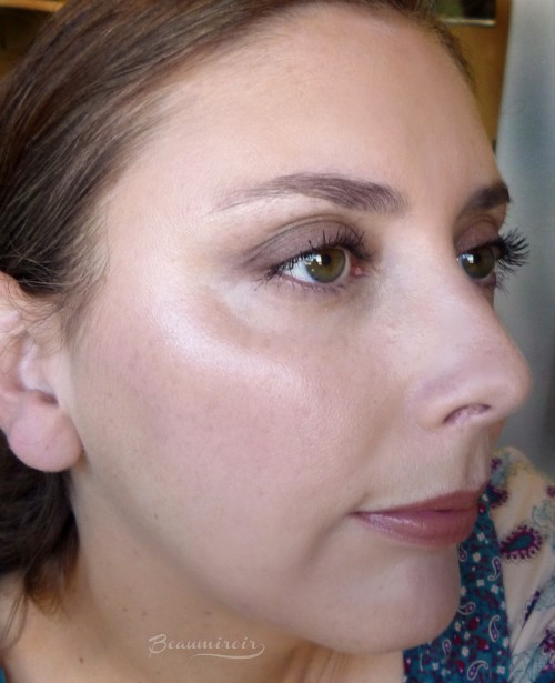 Wearing Lancome's new Cushion Highlighter for Holiday 2016: review, photos, swatches