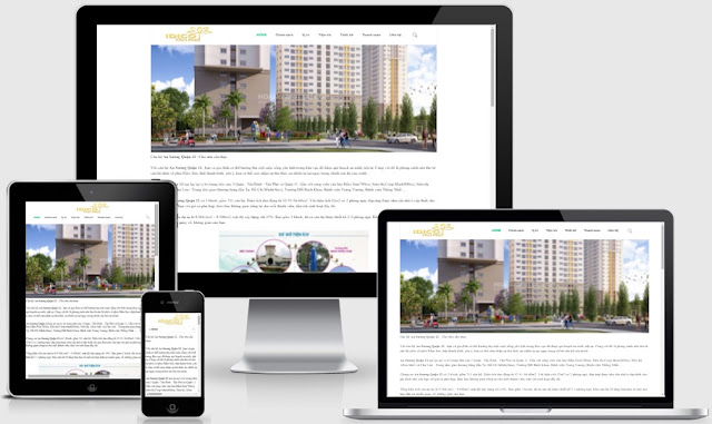 Template blogspot bất động sản seo dự án tốt năm 2016