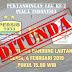 Jadwal Persib VS Persiwa 4 Februari 2019 Ditunda