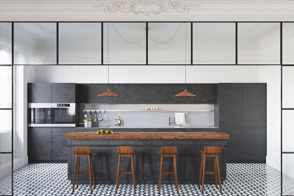 tiled-kitchen-floor