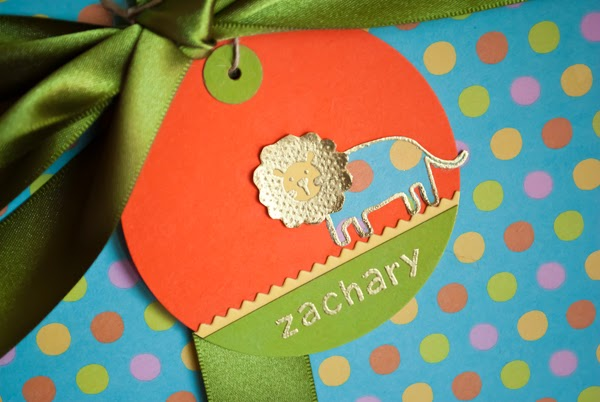Gift Tag by I Make I Talk