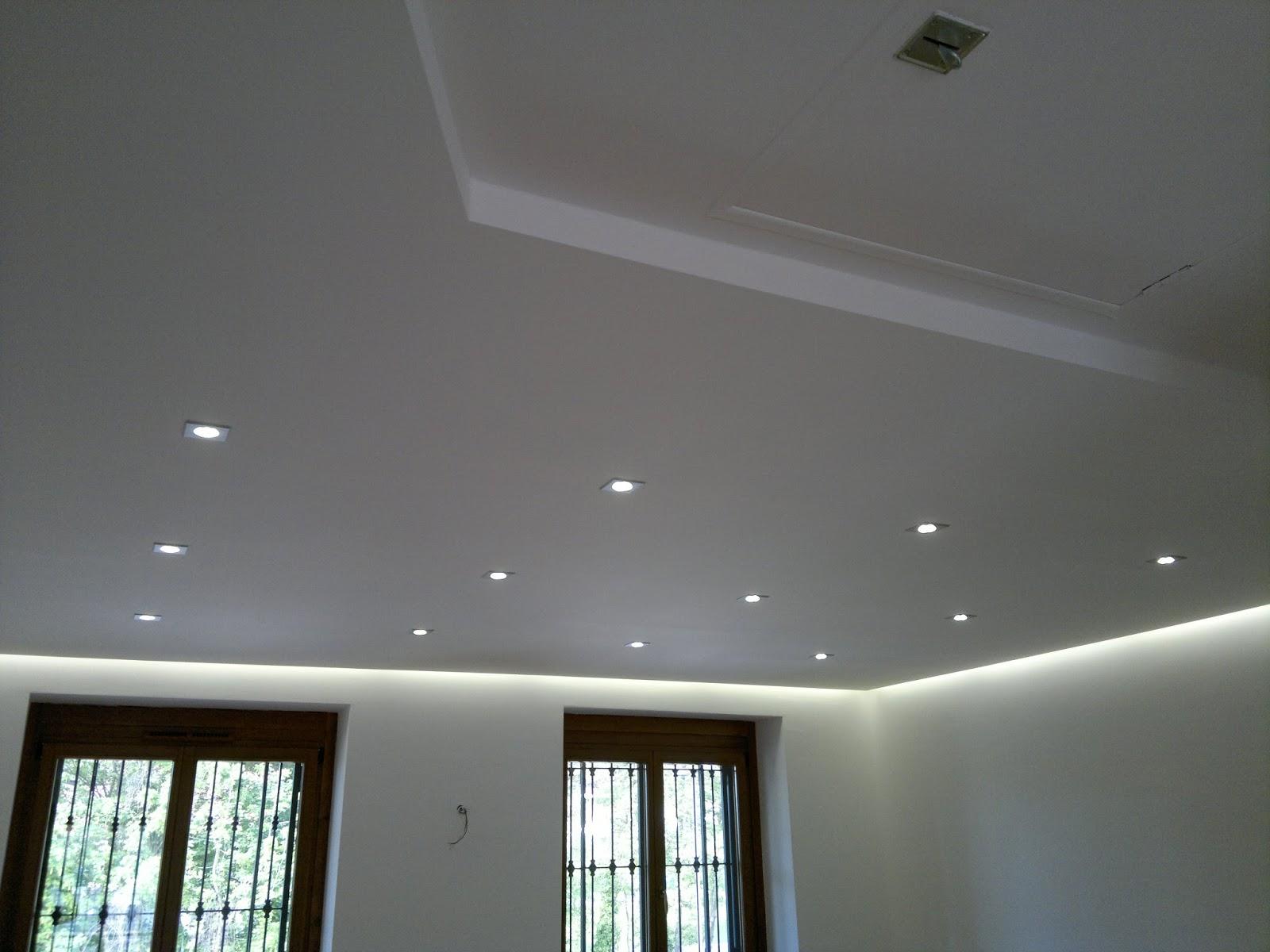 Illuminazione Led casa: Illuminare a Led gli ambienti con Faretti Led da inca...