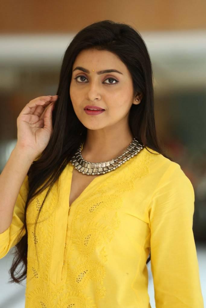 Actress Avantika In Yellow Dress Photoshoot Stills