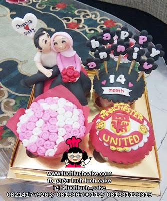 Cupcake Anniversary Tema Manchester United