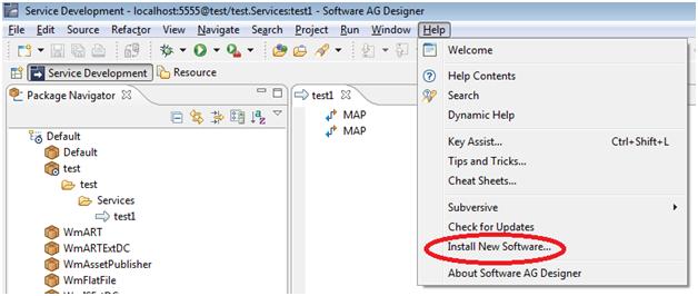 Webmethods Blog Faqs And Usage Designer Workstation Local Service Development Feature Of Webmethods Designer