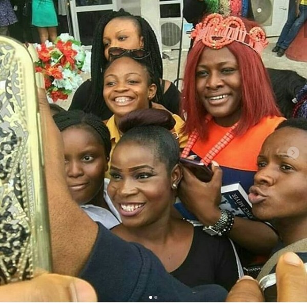 Governor Of Enugu State Host Alex Of BBNaja She Gets A Royal Welcome In Enugu