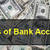 The Types Of Bank Accounts