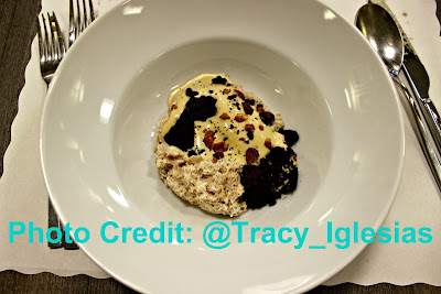 Dessert: Black Carob, Banana, Peanut, Chocolate, Chef Erik Ramirez, Llama Inn NYC, De Gustibus Cooking School, Macys