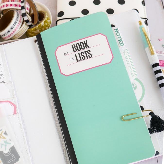 Keeping a journal of lists by Jamie Pate @jamiepate