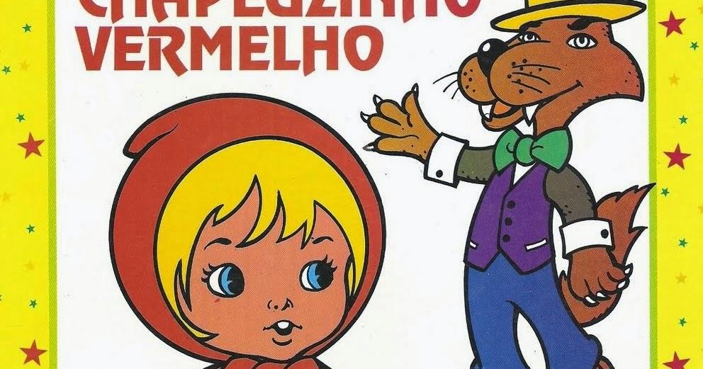 Atividades Para Colorir Infantil: Chapéuzinho Vermelho