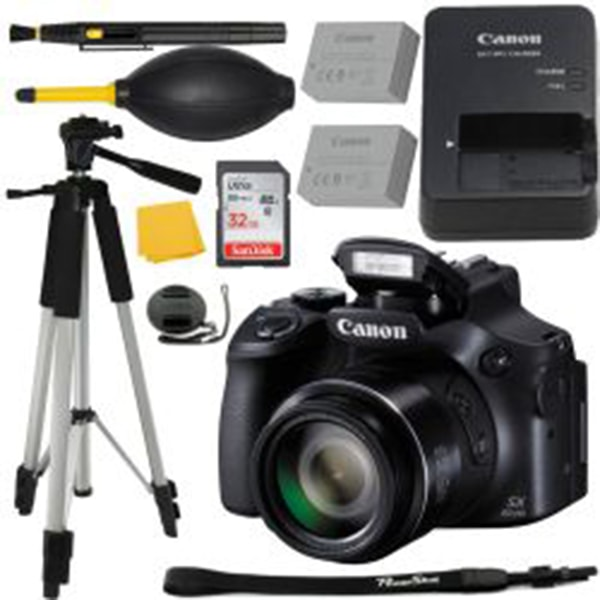 Canon PowerShot SX60 HS Digital Camera + MORE